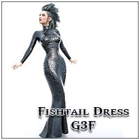 Fishtail Dress G3F (dForce)