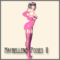 Maybellene Poses II V4