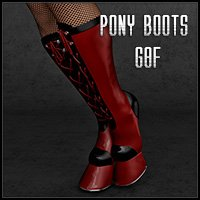 Pony Boots G8F