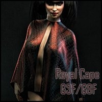 Royal Cape G3F/G8F (dForce)
