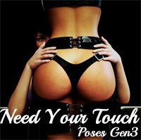 Need Your Touch Poses G3F
